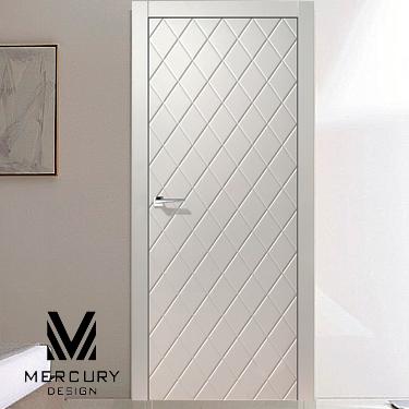 белая дверь Disegno 1279 распродажа дверей мебель люстры витрина