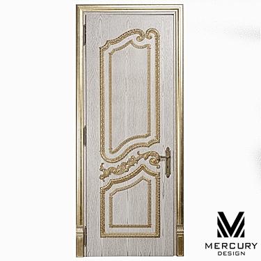 Деревянная межкомнатная дверь из массива дуба Лорд от
